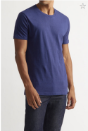 blue CREW NECK mens